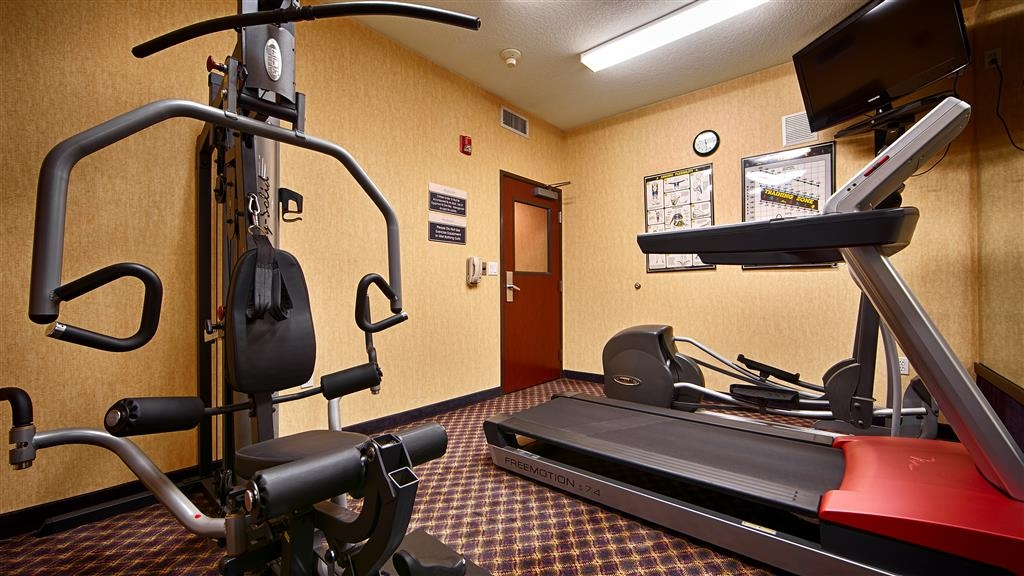 Best Western Plus Northwind Inn & Suites - Our fitness center is open for guest use 24-hours a day.