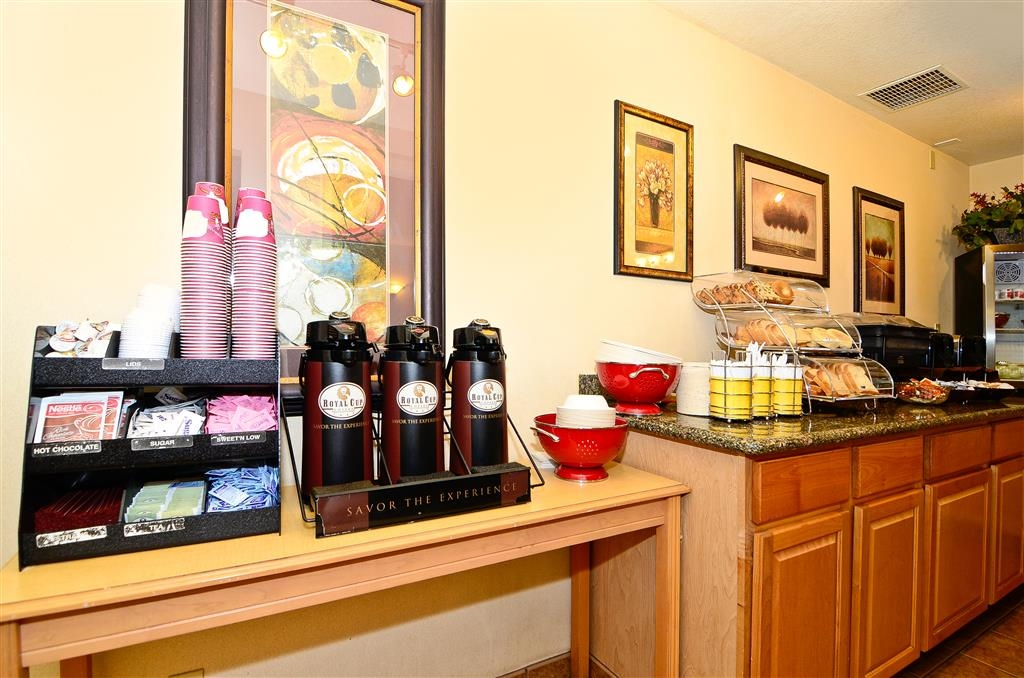 Best Western Horizon Inn - Frühstücksbuffet