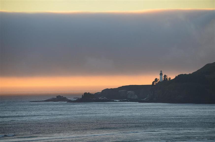 Steep Hill and Lighthouse Bathroom Accessory Coastal//Seaside Decor