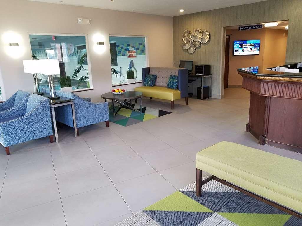 Best Western Sandy Inn - Vue du lobby