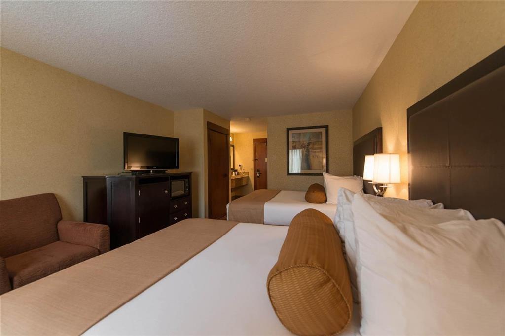 Best Western Astoria Bayfront Hotel - Habitación con dos camas de matrimonio grandes