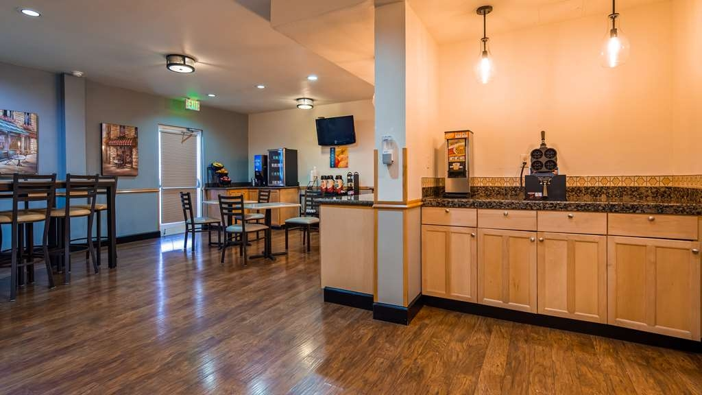 Best Western Woodburn - Join us every morning for a variety of your favorite morning treats.