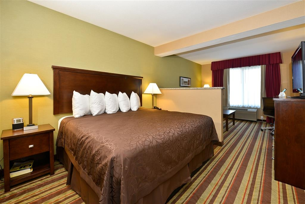 Best Western Wilsonville Inn & Suites - Wake up feeling refreshed in this king bed guest room!
