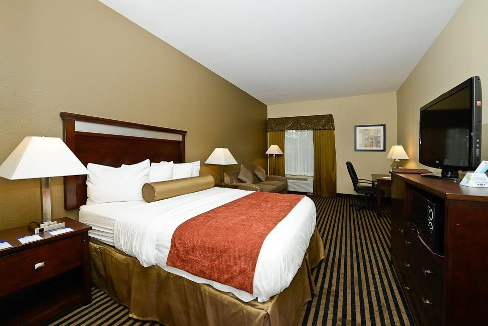 Best Western Plus Prairie Inn - Our rooms are quiet and comfortable.