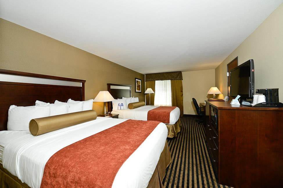 Best Western Plus Prairie Inn - All of our rooms have HD televisions with all the HD channels.