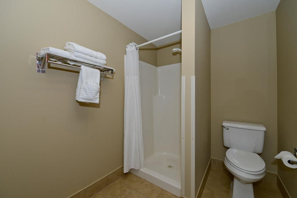 Best Western Plus Prairie Inn - Bagno della suite presidenziale