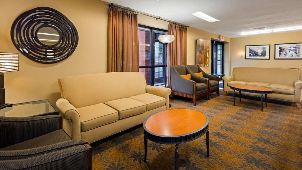 Best Western Inn & Conference Center - Vue du lobby