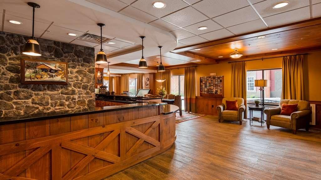 Best Western Plus Intercourse Village Inn & Suites - Vue du lobby