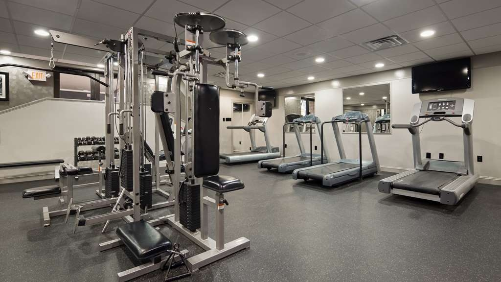 Best Western Plus Concordville Hotel - Our Fitness Center is open 24 hours a day.