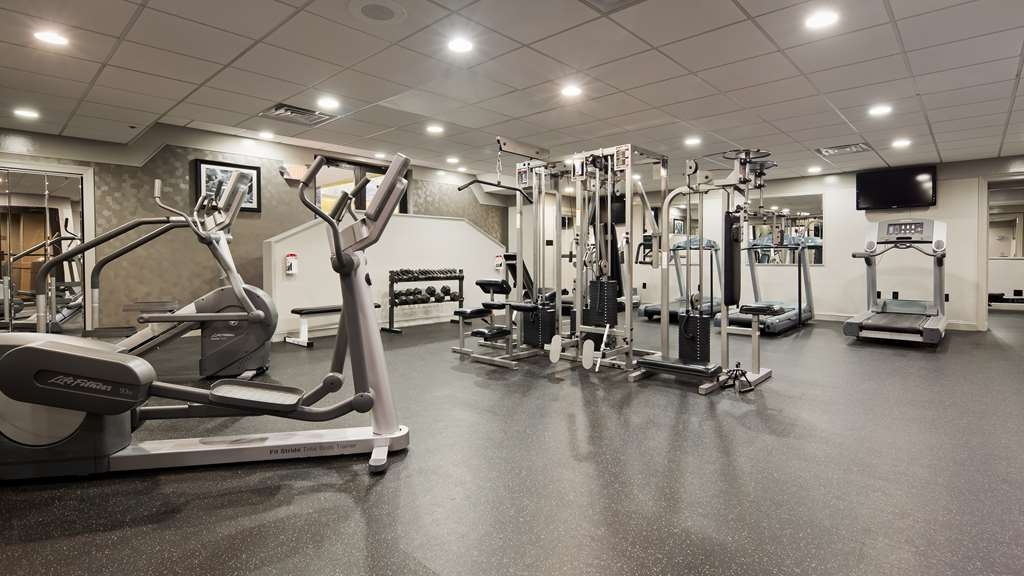 Best Western Plus Concordville Hotel - Keep up with your workout routine during your time away from home when you visit our fitness center.