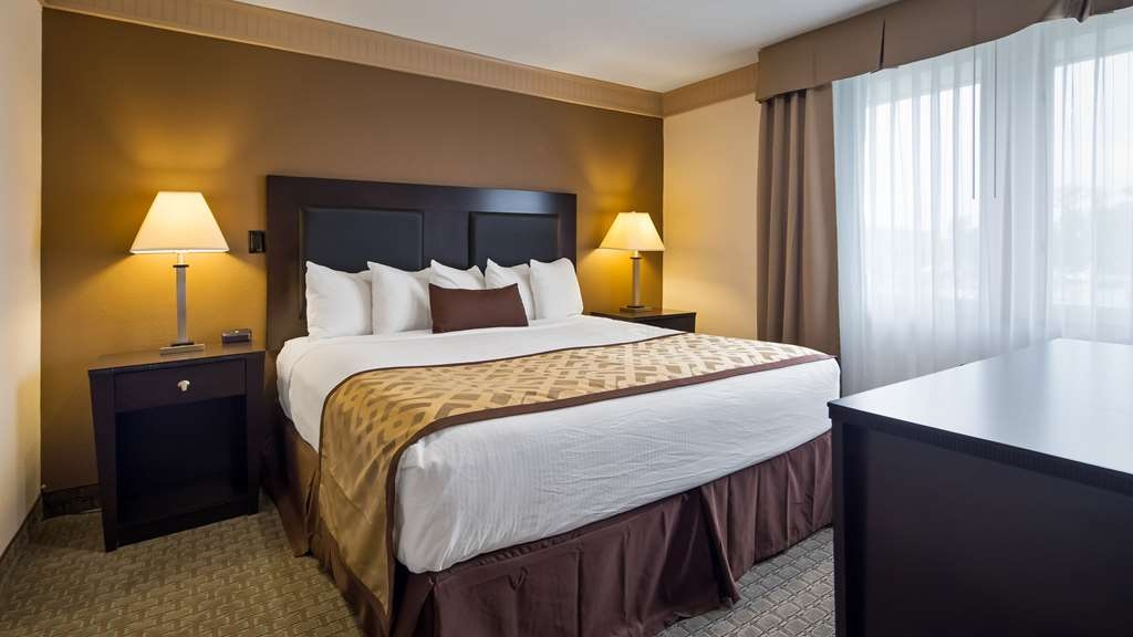 Best Western Plus Concordville Hotel - Jr. King Suite with one king bed.