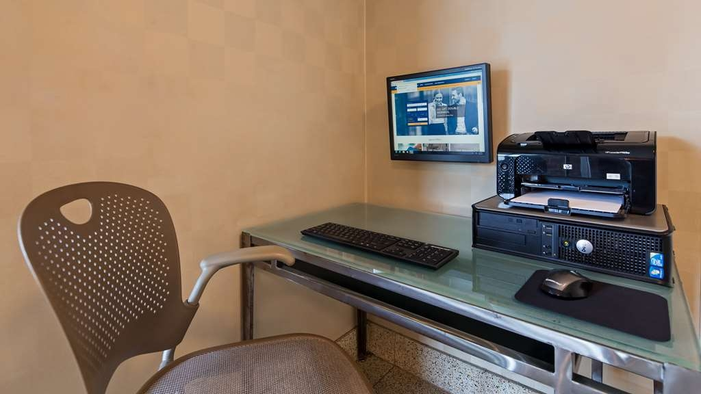 Best Western Lock Haven - For business or pleasure, the business center is available 24 hours a day at no additional cost to you.