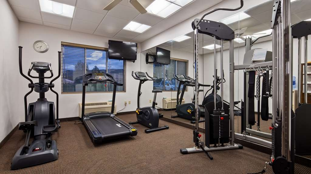 Best Western Lock Haven - If you don't want to walk along the Susquehanna River walking path, feel free to enjoy our fitness center.