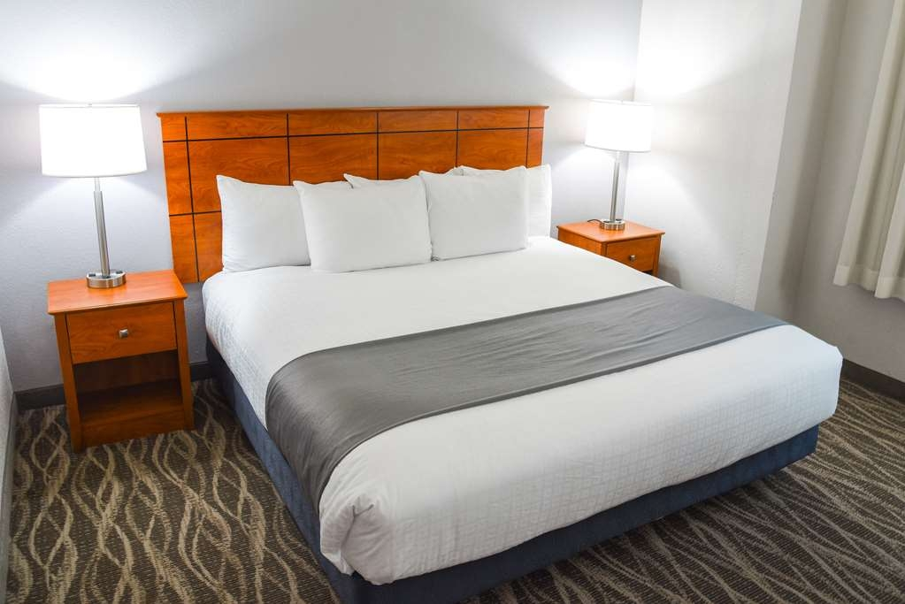 Best Western Lock Haven - Our king room is very spacious for your comfort. Every room offers a coffee pot, iron, ironing board, hairdryer, free WIFI and cable with HBO.