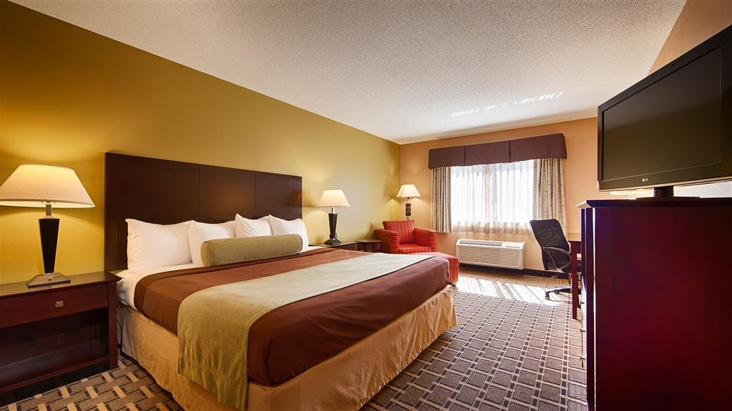 Best Western Plus Executive Inn - Chambre avec lit king size