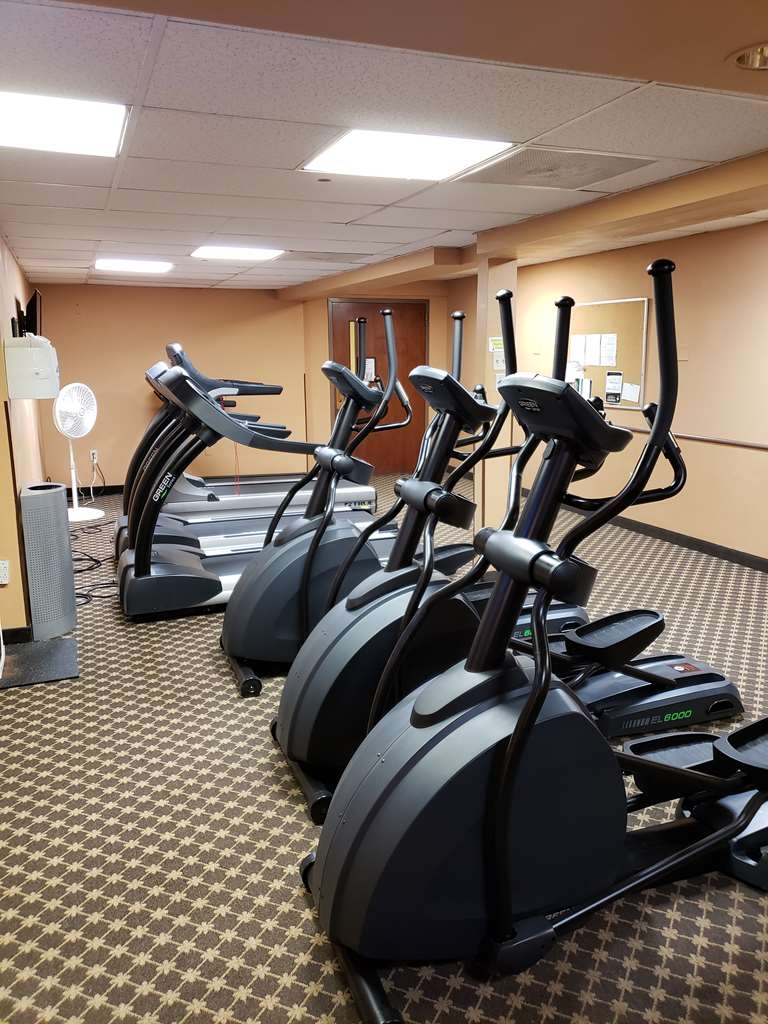 Best Western Grand Victorian Inn - Our fitness express center includes treadmills and ellipticals to help you stay fit while on the road.