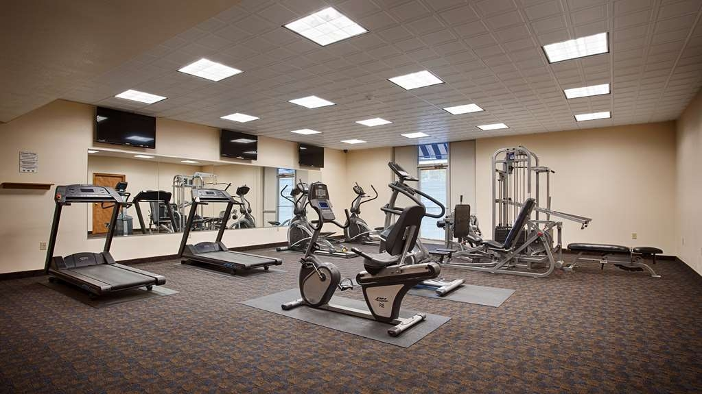 Best Western Plus Bradford Inn - Stay healthy while visiting Bradford, PA in our fully equipped fitness center.