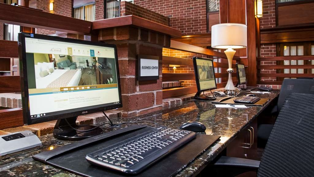 Best Western Premier The Central Hotel & Conference Center - Full-Service Business Center complete with wired hi-speed internet access, color copier, printing, and scanning capabilities.