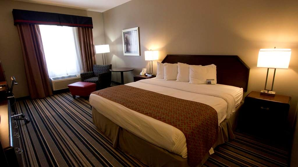 Best Western Harrisburg Hershey Hotel - King Bed Guest Room