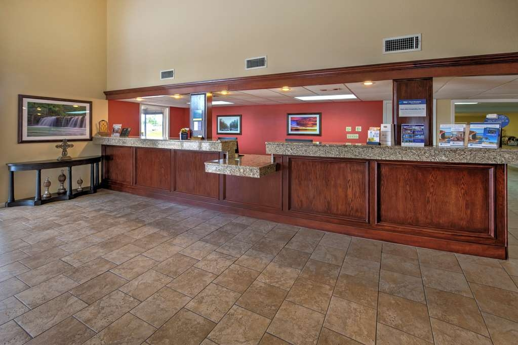 Best Western Inn - Stop by our friendly front desk open 24 hours for your convenience.