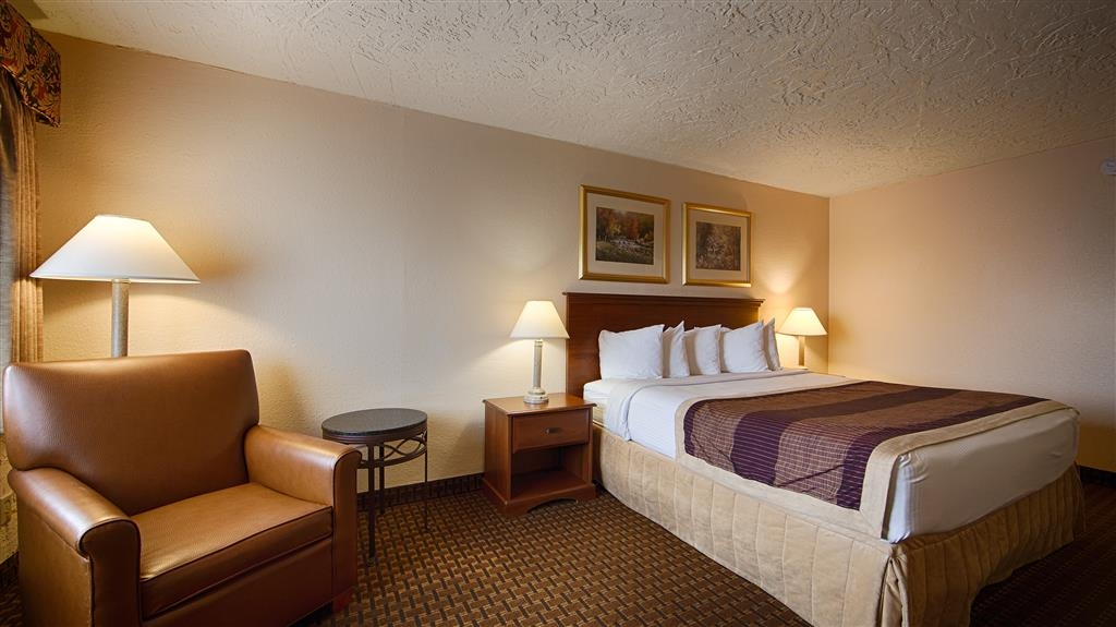 Best Western Hillside Inn - Kingsize-Zimmer