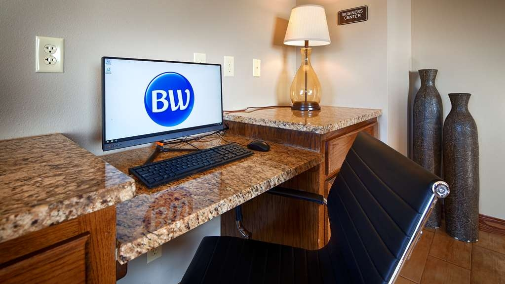Best Western Hillside Inn - Our business center features a printer/copier for your convenience.
