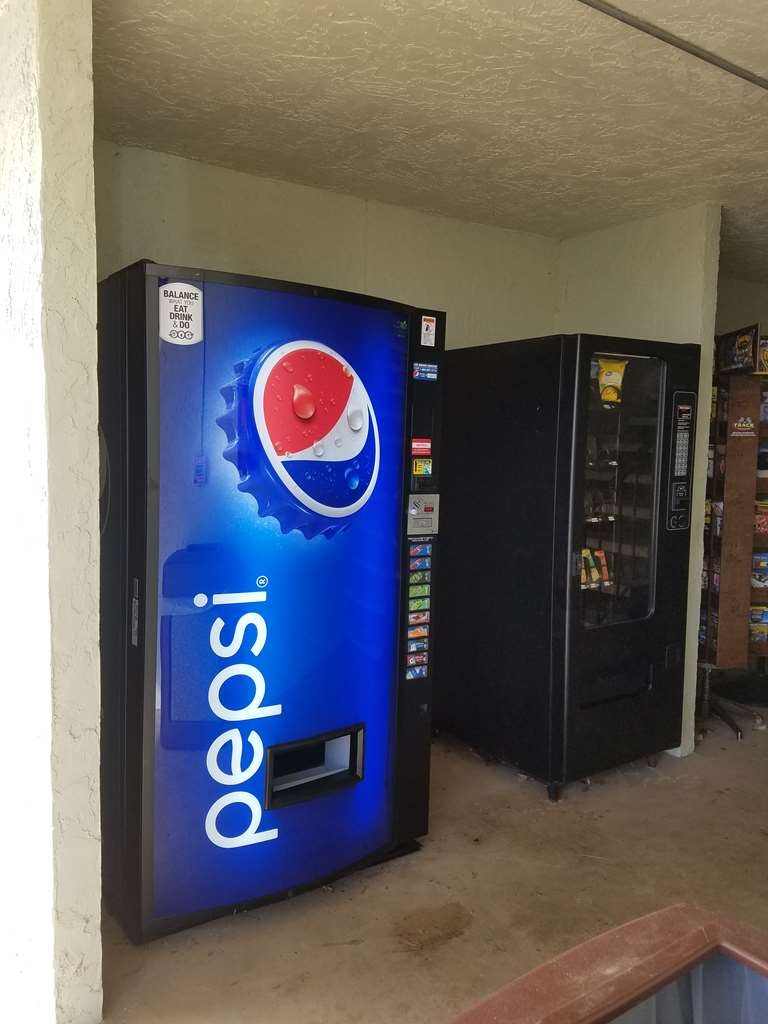 Best Western Hillside Inn - If you need a late night snack stop by our vending machine.