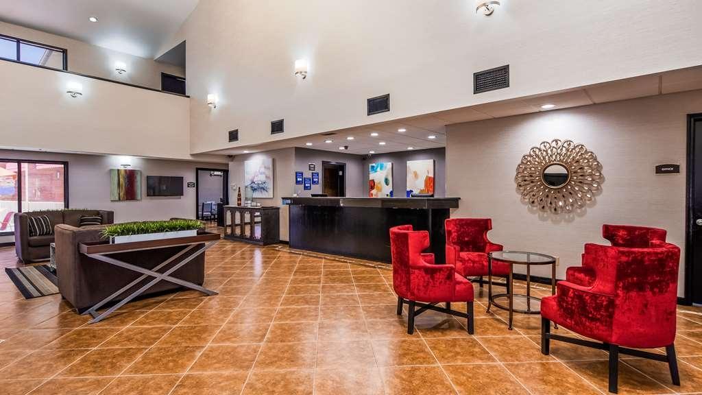 Best Western Jacksonville Inn - Vue du lobby