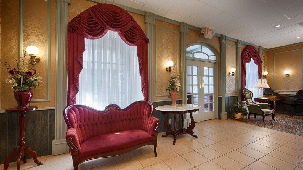 Best Western Eureka Inn - Vista del vestíbulo