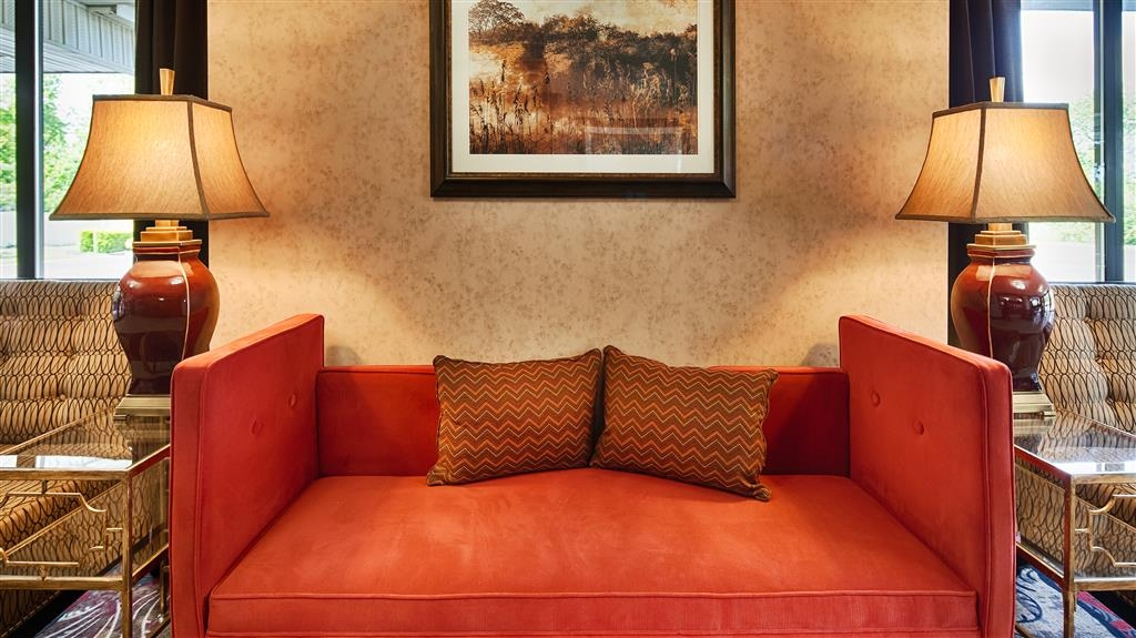 Best Western Inn - Our lobby is the perfect spot to relax after a long day of work and travel.