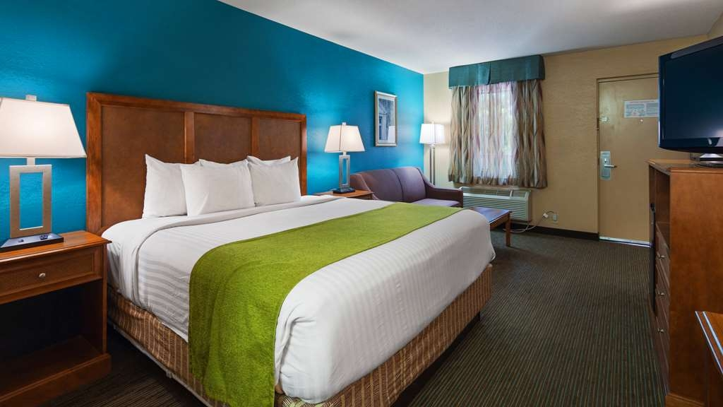 Best Western Charleston Inn - Our standard King Rooms feature a king size bed and a full size sleeper sofa.