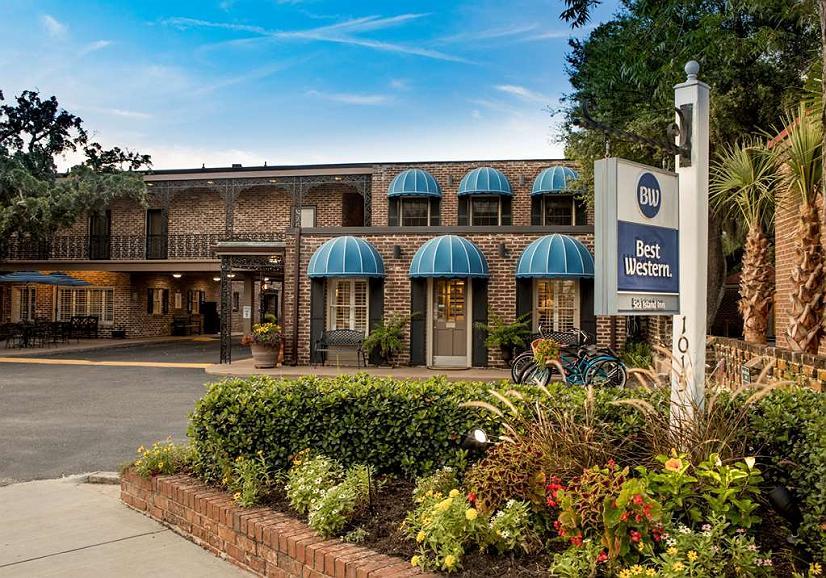 Best Western Sea Island Inn - Facciata dell'albergo