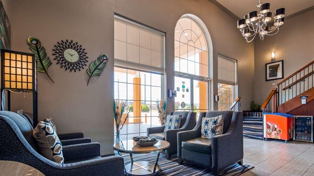 Best Western Van Buren Inn - Vue du lobby