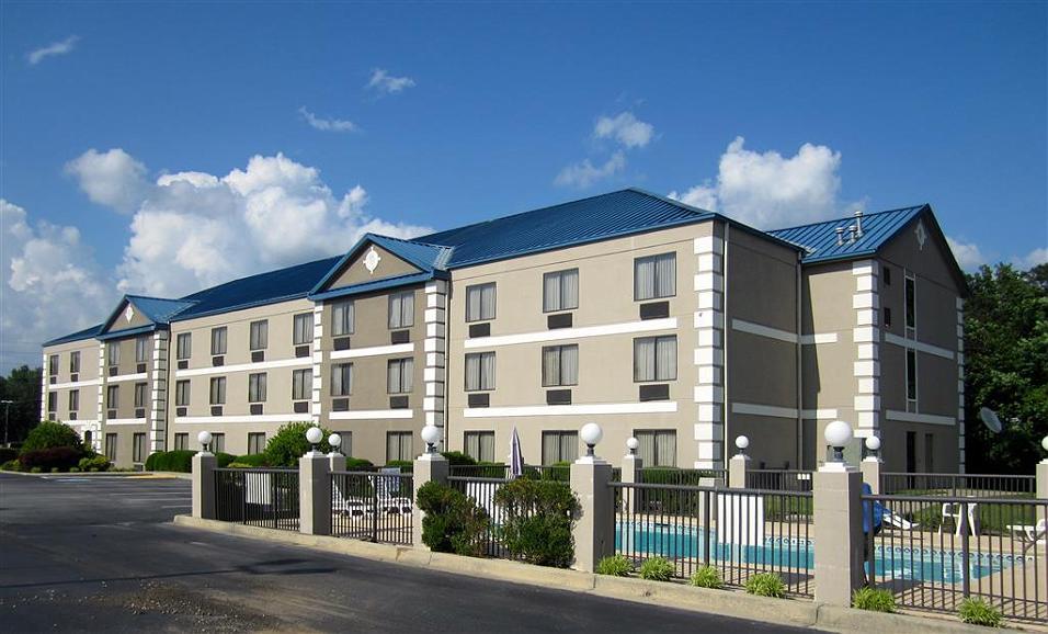 Best Western Executive Inn & Suites - Vista exterior