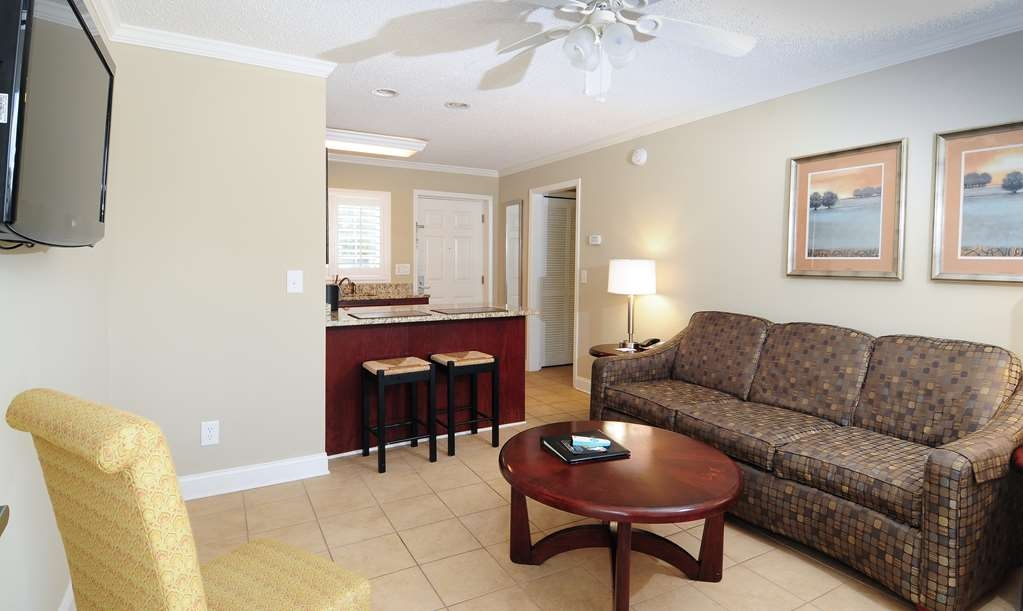 Best Western Plus Grand Strand Inn & Suites - One Bedroom Guest Living Room