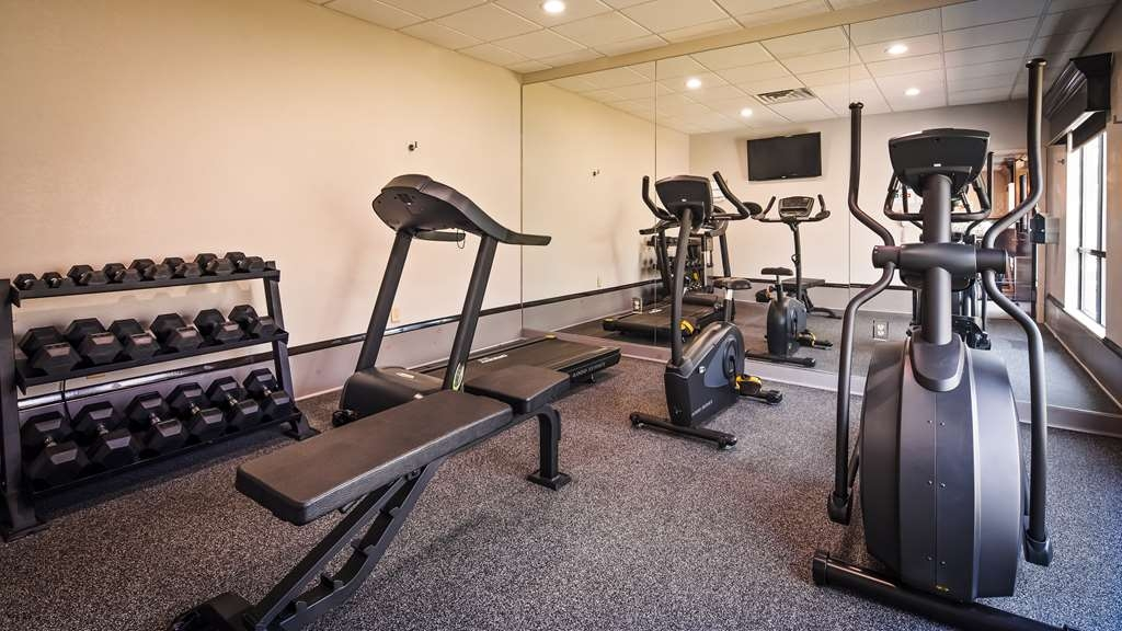 Best Western Magnolia Inn and Suites - Fit a workout into your busy day during your stay with the convenience of our 24-hour fitness center.