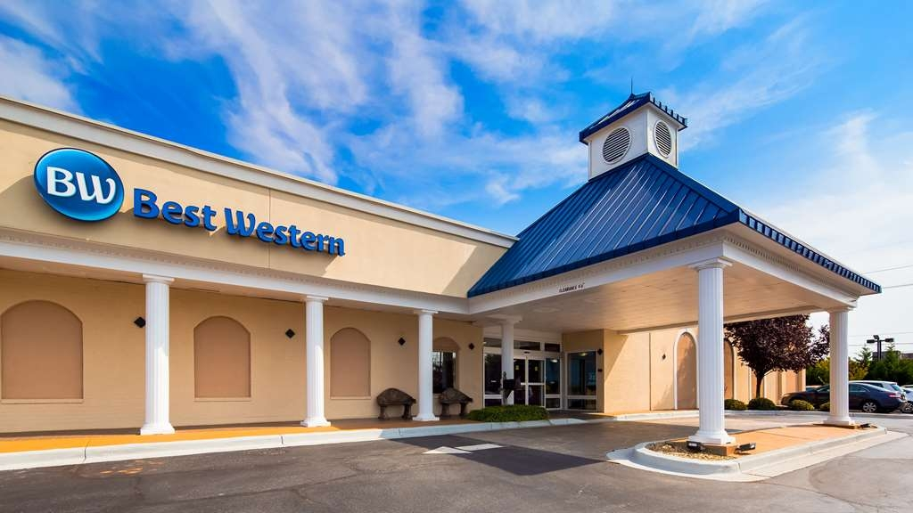 Best Western Greenville Airport Inn - Facciata dell'albergo
