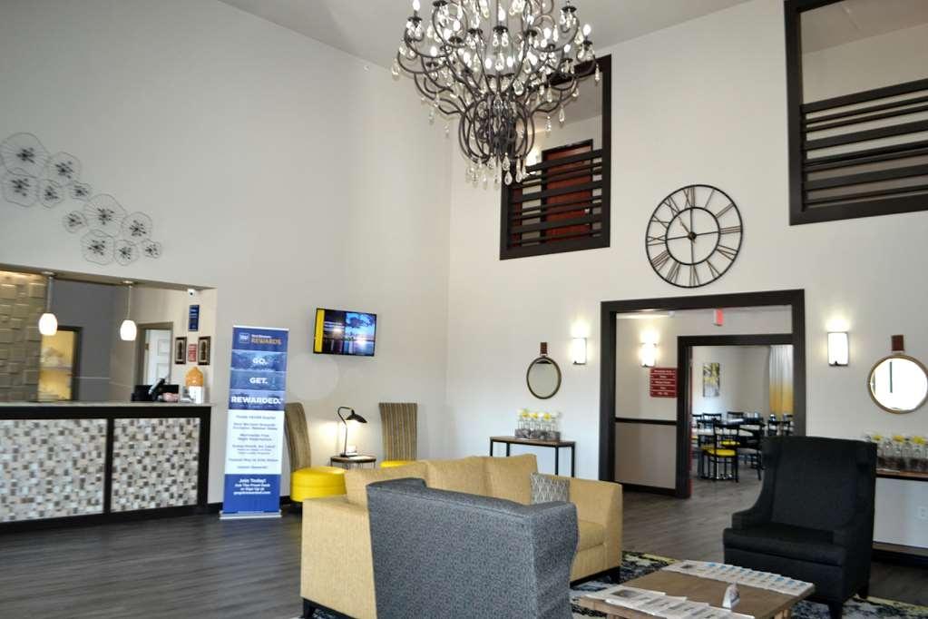 Best Western Sherwood Inn & Suites - Vue du lobby