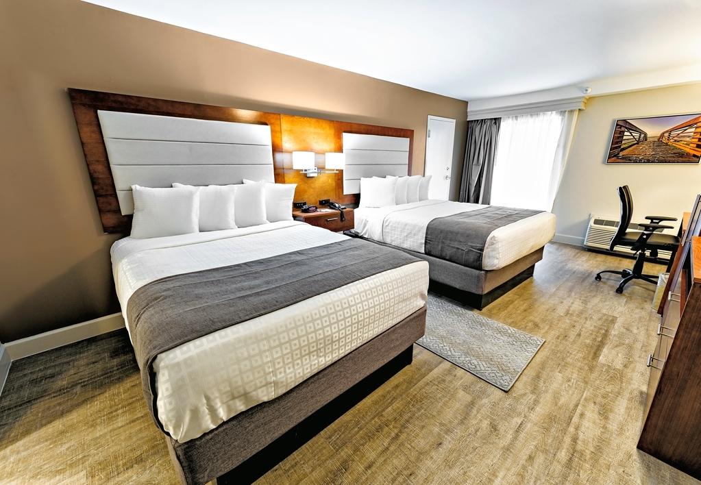 Best Western Ocean Breeze Inn - Two Queen Guest Room