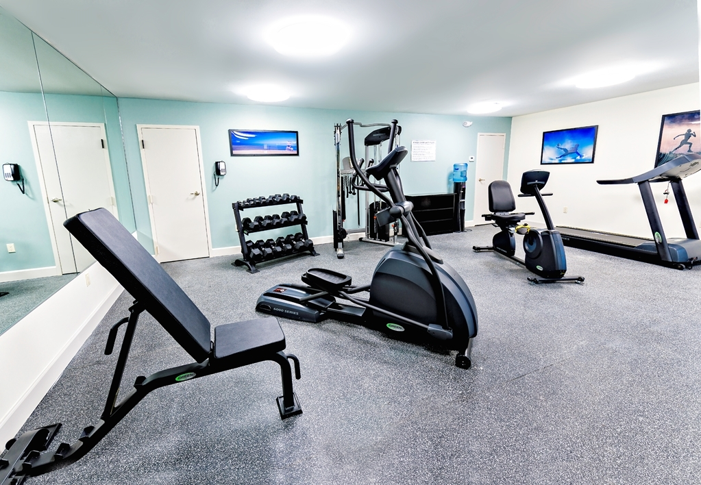 Best Western Ocean Breeze Inn - fitnessraum