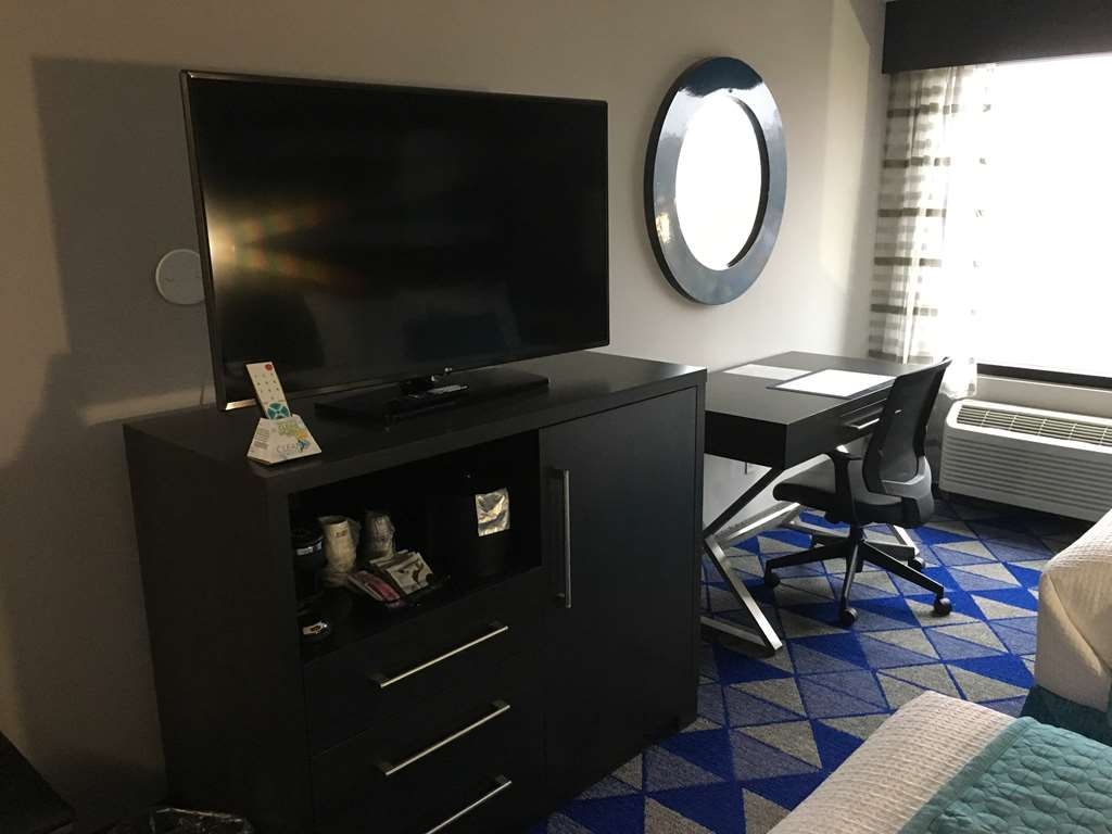 Best Western Plus Spartanburg - Guest Room Amenities include a Large TV, Fridge, Microwave and Coffee Maker