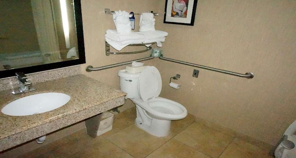 Best Western Plus JFK Inn & Suites - Mobility Accessible Bathroom