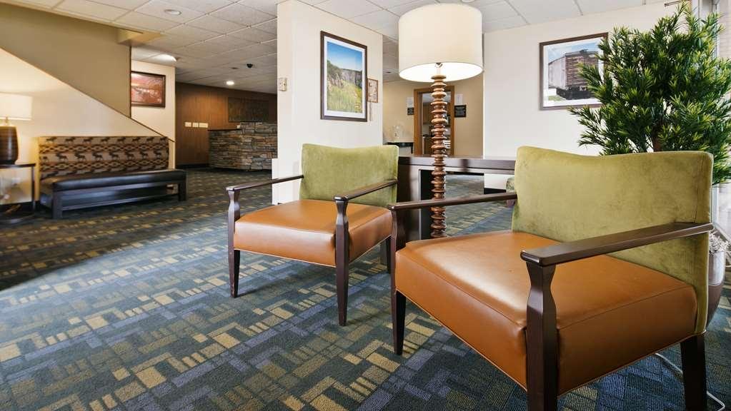 Best Western Lee's Motor Inn - Vue du lobby