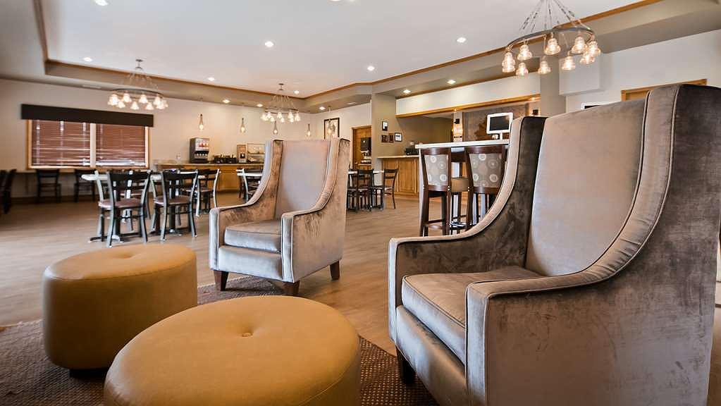 Best Western Buffalo Ridge Inn - Vue du lobby