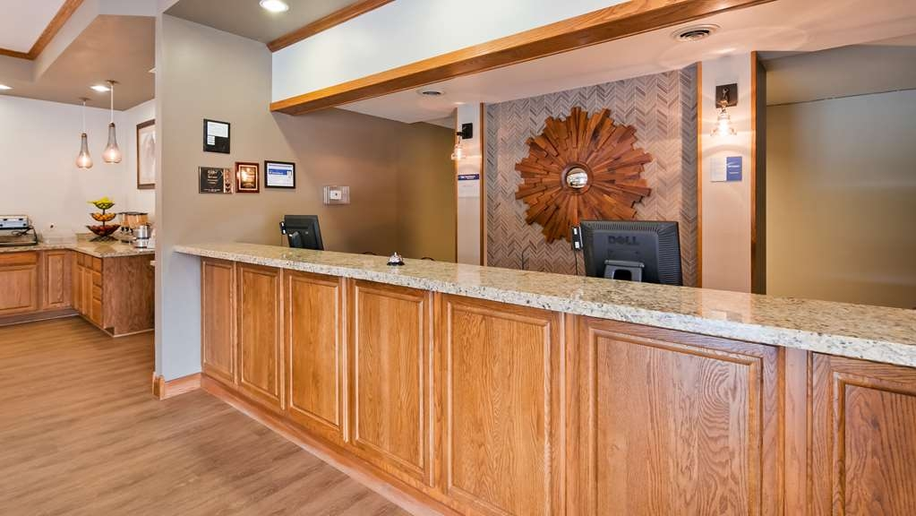 Best Western Buffalo Ridge Inn - empfang
