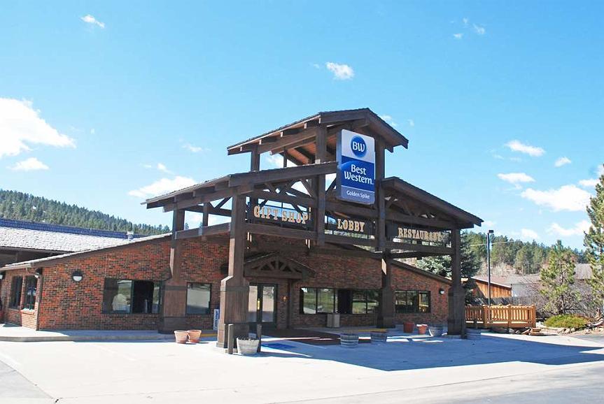 Best Western Golden Spike Inn & Suites - Area esterna