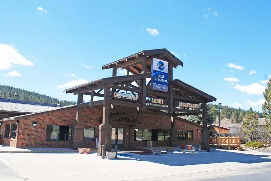 Best Western Golden Spike Inn & Suites - Vista exterior
