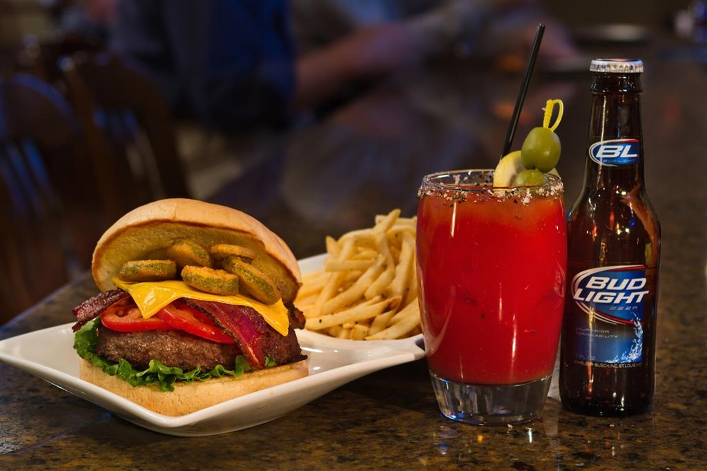 Best Western Plus Ramkota Hotel - During your stay, order a burger and bloody Mary at the Maple Street Cafe.