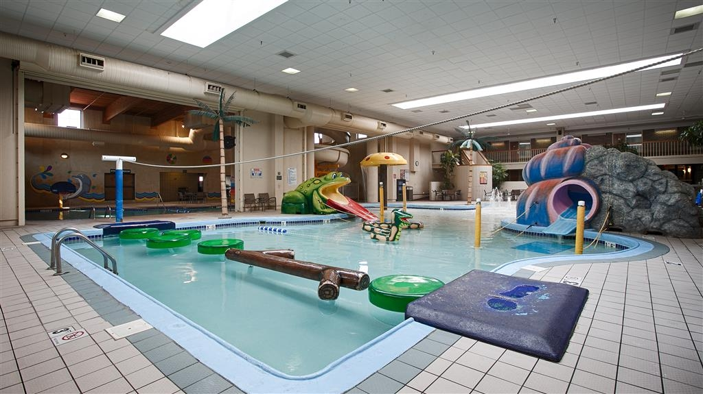Best Western Plus Ramkota Hotel - Splash-RAGEOUS! Indoor water park featuring 130 foot slide, activity pool, children's water features & admission for 6 included with your stay!