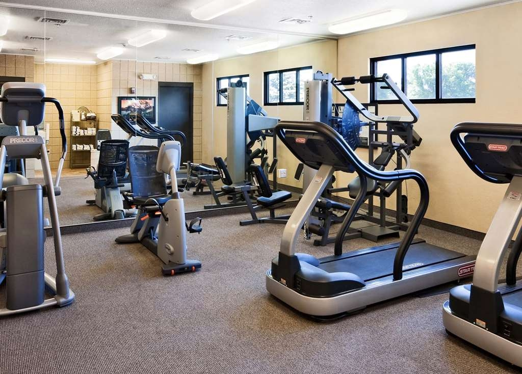 Best Western Plus Ramkota Hotel - Enjoy our indoor fitness center or hit the bike trails only one block away.